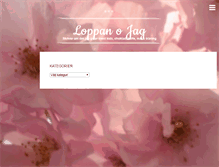 Tablet Preview of loppan.me